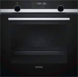 Siemens - HB578A0S0B - Black and Stainless Steel medium image